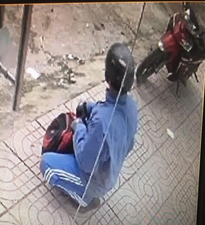 Hình ảnh ban đầu tên cướp Ngân hàng ở Đồng Nai - ảnh 2