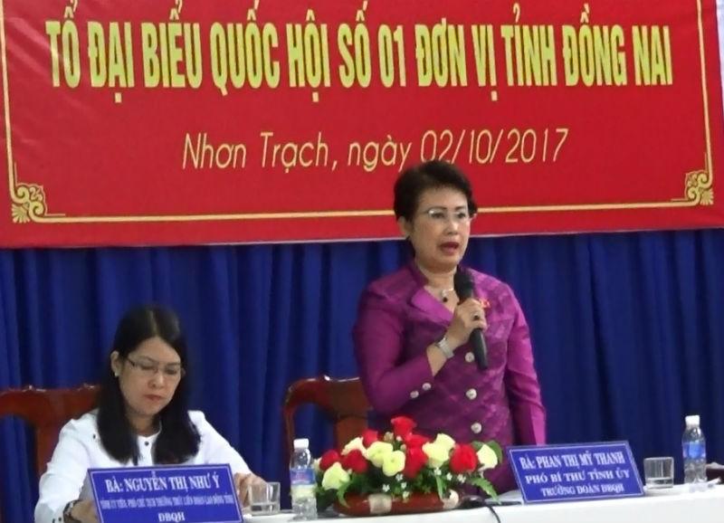 Cử tri Đồng Nai hỏi về việc xử lý vụ Trịnh Xuân Thanh - ảnh 1