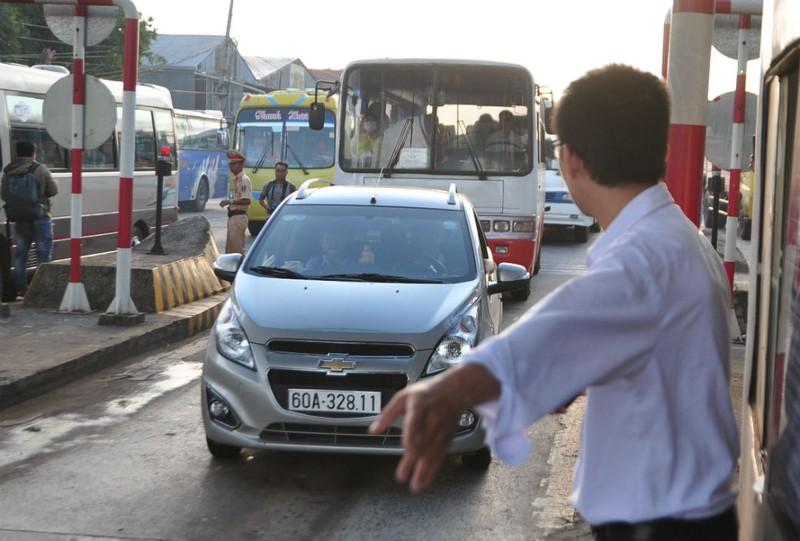 Trạm BOT tránh Biên Hòa chưa thu phí lại - ảnh 1