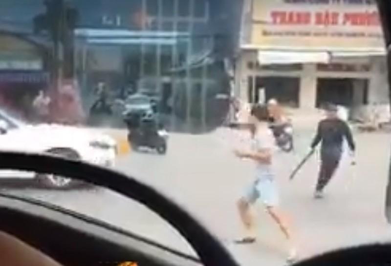 2 băng nhóm truy sát trên quốc lộ ở Đồng Nai  - ảnh 1