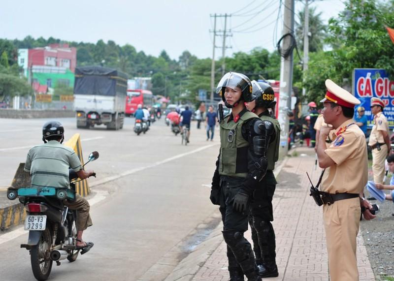 Đồng Nai họp 11 sở, ngành đảm bảo an ninh BOT Biên Hòa - ảnh 1