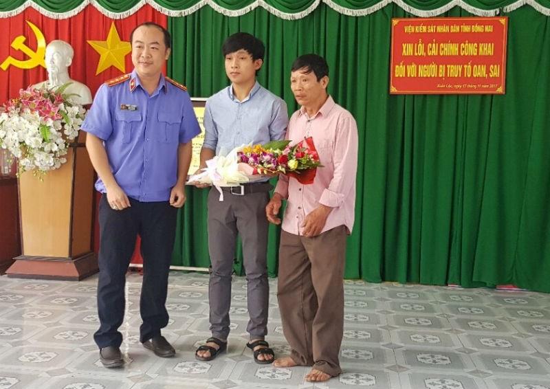 VKS Đồng Nai xin lỗi người bị bắt giam oan sau 9 năm