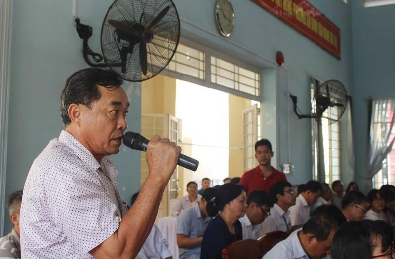 Cử tri quan tâm nhiều về dự án lấn sông Đồng Nai - ảnh 1