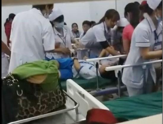 Hơn 70 học sinh nhập viện cấp cứu sau bữa ăn sáng - ảnh 1