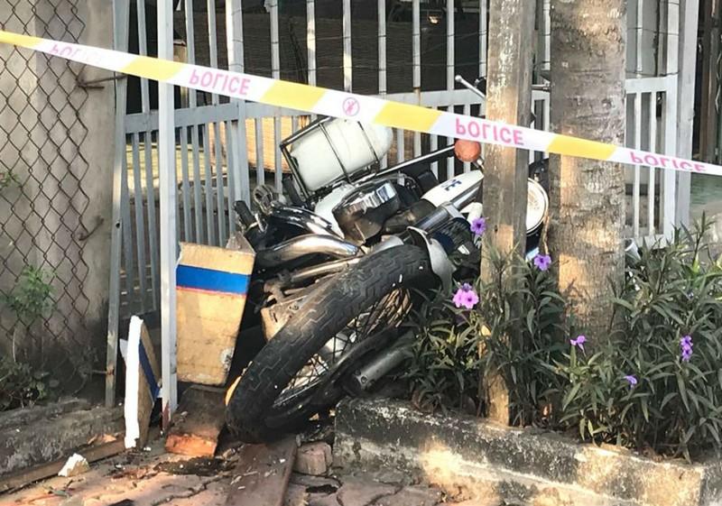 Bình Dương: Ô tô tông CSGT nghi để giải cứu xe vi phạm - ảnh 2