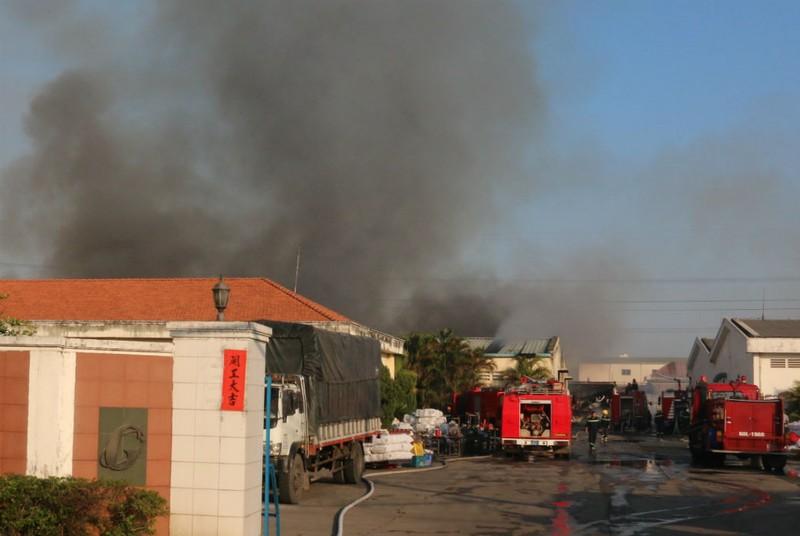 Cháy khủng khiếp nhà máy trong KCN Biên Hòa 2 - ảnh 2