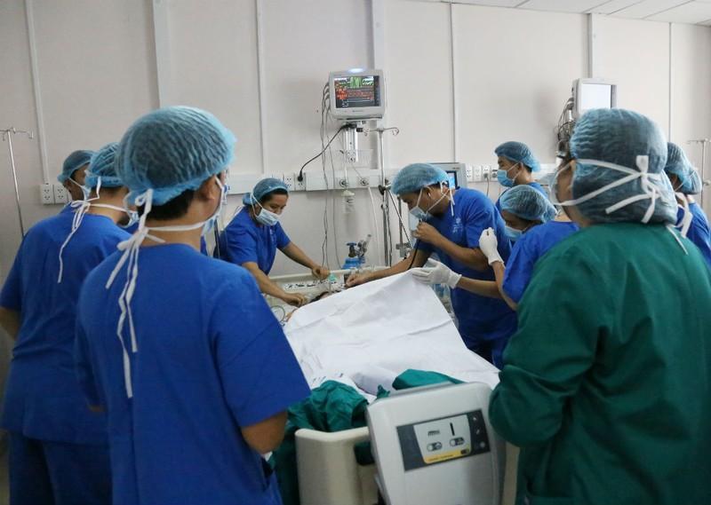 Ca mổ tim hở đầu tiên ở BV Đồng Nai thành công - ảnh 1
