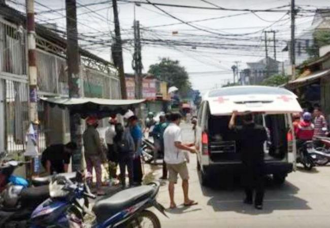 Người đàn ông chết trên võng bên đường ở Đồng Nai - ảnh 1