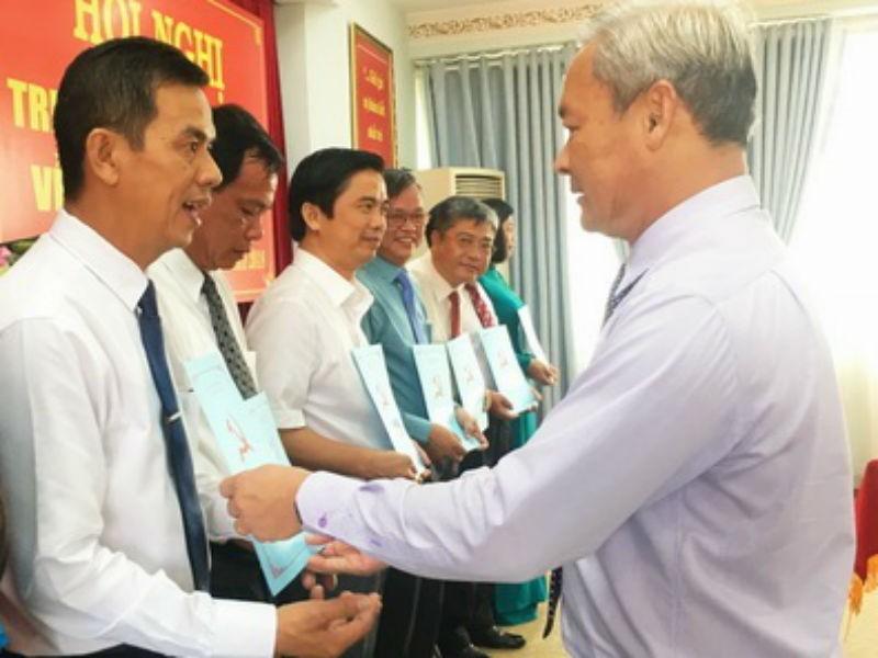 Đồng Nai thay đổi nhiều lãnh đạo cấp huyện - ảnh 1