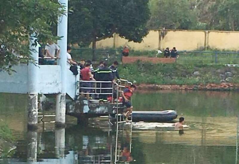 Chèo thuyền trên hồ, hai học sinh cấp 3 tử nạn - ảnh 1