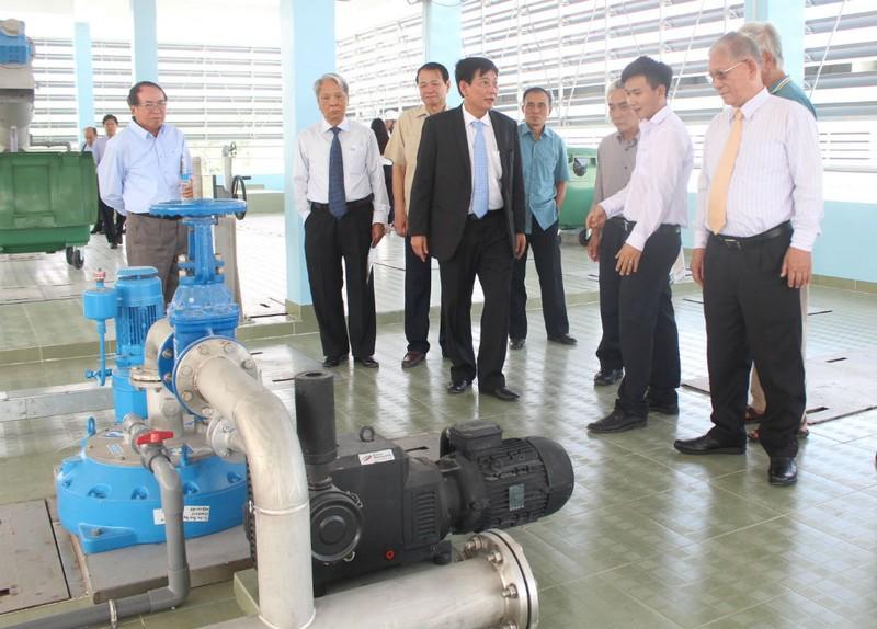Nhà máy xử lý nước 115 triệu USD chính thức hoạt động - ảnh 1