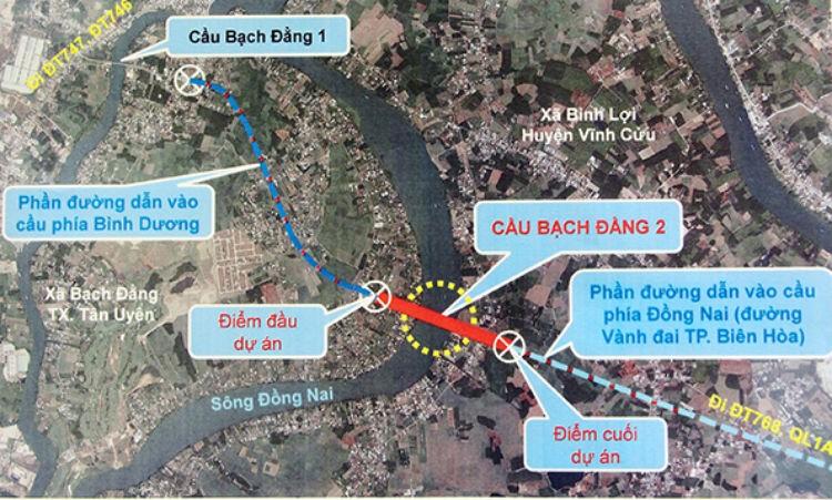 Đồng Nai và Bình Dương cùng xây cầu Bạch Đằng 2 - ảnh 1