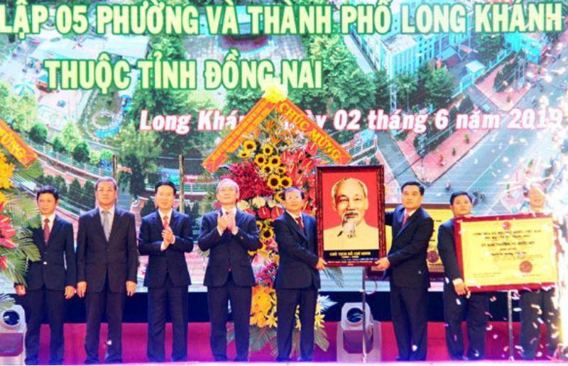 Đồng Nai công bố có thêm thành phố Long Khánh - ảnh 1