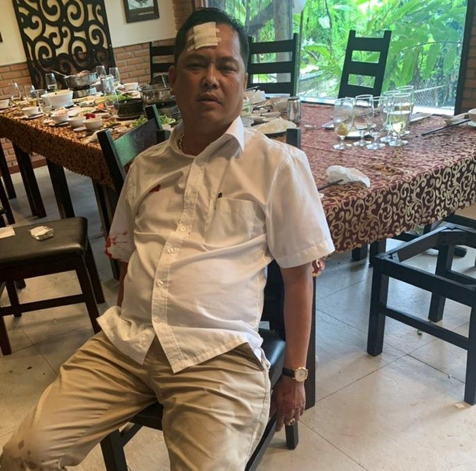 Vụ vây xe ở Đồng Nai: Người bị đánh trong quán yêu cầu khởi tố - ảnh 1