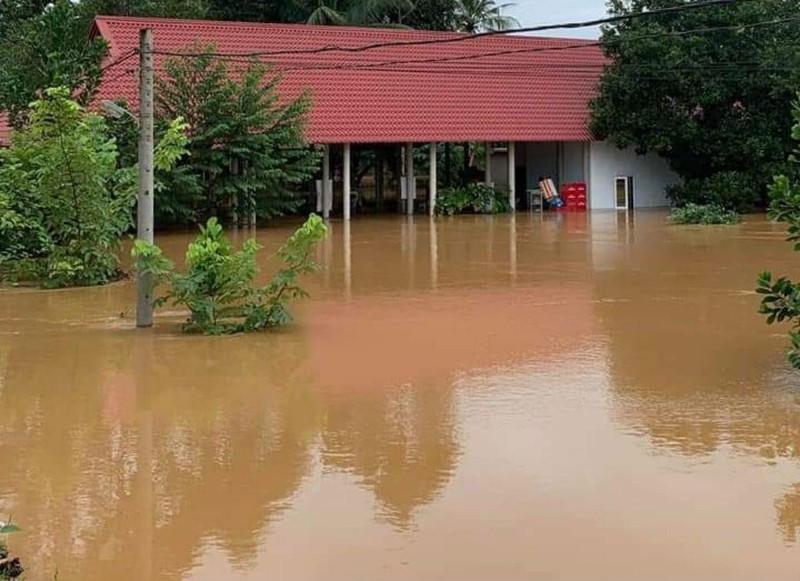 Những hình ảnh ngập lũ tại tỉnh Đồng Nai - ảnh 1