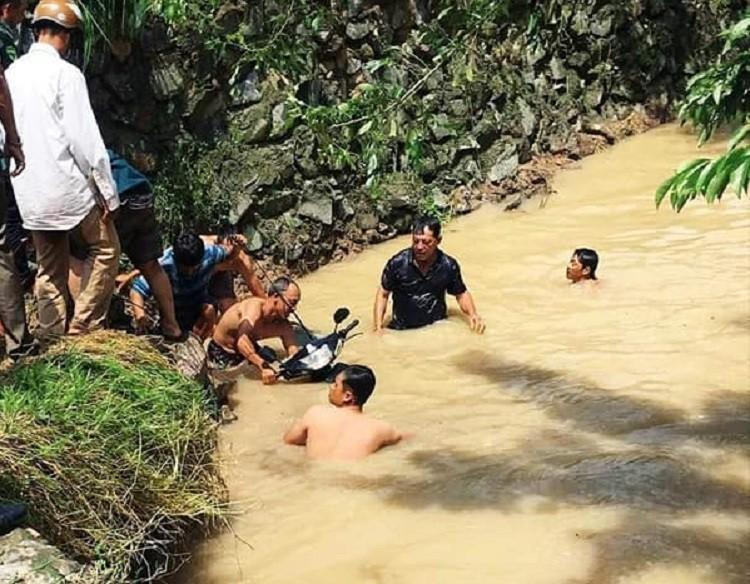 Đồng Nai: Một người đàn ông bị mưa lũ cuốn trôi trong đêm - ảnh 1