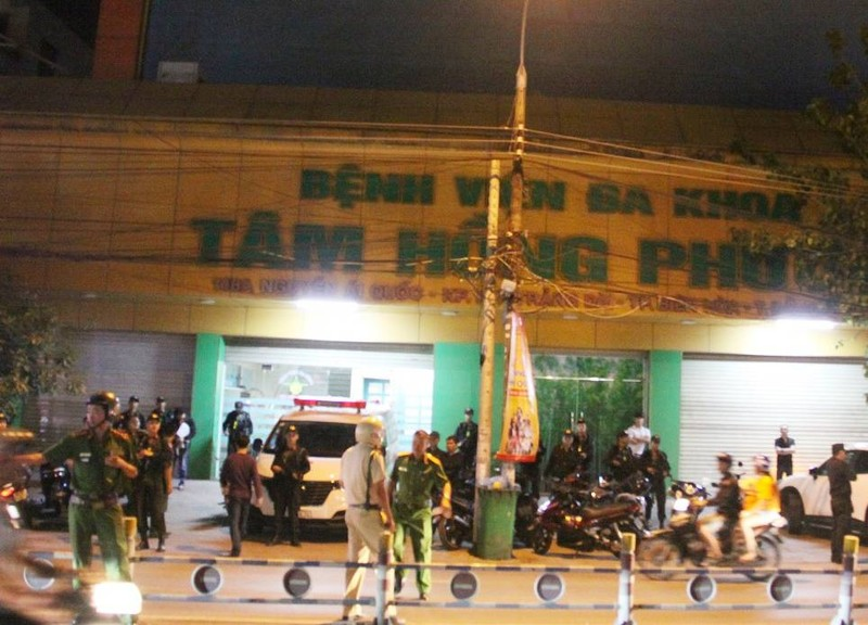Đồng Nai: Hàng trăm cảnh sát trang bị súng bao vây bệnh viện - ảnh 1