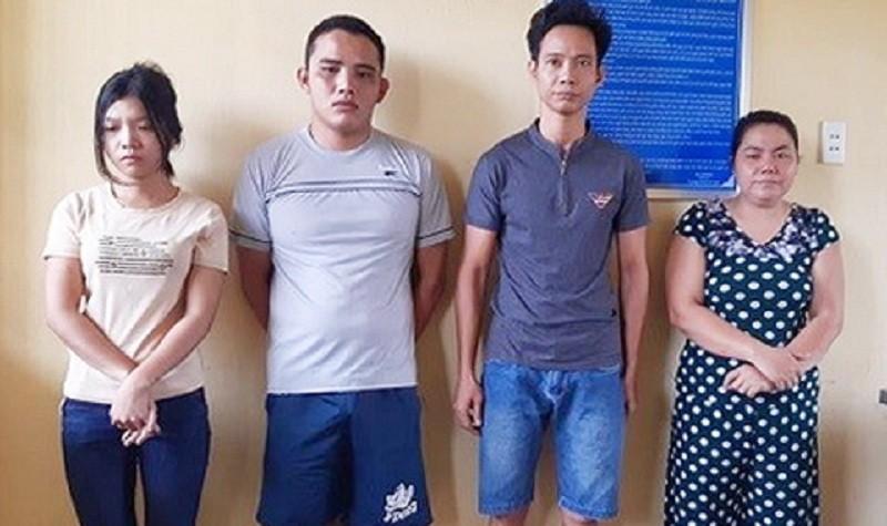 Bắt thêm 3 người tra tấn dã man cô gái bán cà phê - ảnh 1