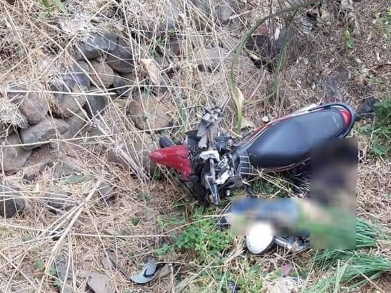 Đồng Nai: Thi thể người đàn ông nằm cạnh xe máy dưới vực - ảnh 1