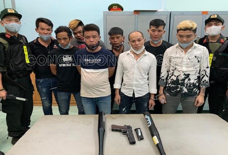 Đồng Nai: Bắt nhóm Thảo 'ma' mang súng đi giải quyết mâu thuẫn - ảnh 1