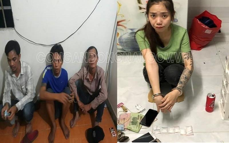 Đồng Nai: Bắt 7 nghi can bán ma túy cho người nghiện - ảnh 1