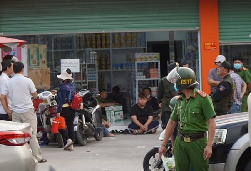 Hàng trăm cảnh sát bao vây nhóm bảo kê ở Đồng Nai - ảnh 1