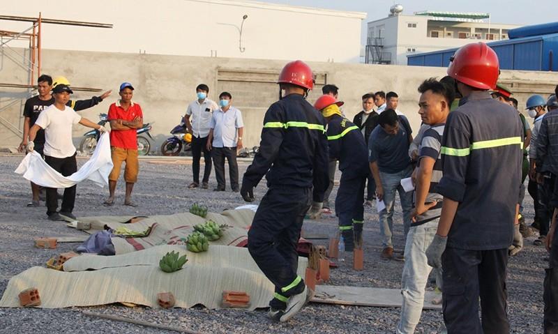Hình ảnh vụ sập tường 10 người tử vong ở Đồng Nai - ảnh 8
