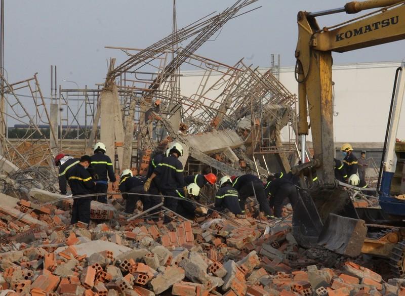 Hình ảnh vụ sập tường 10 người tử vong ở Đồng Nai - ảnh 3