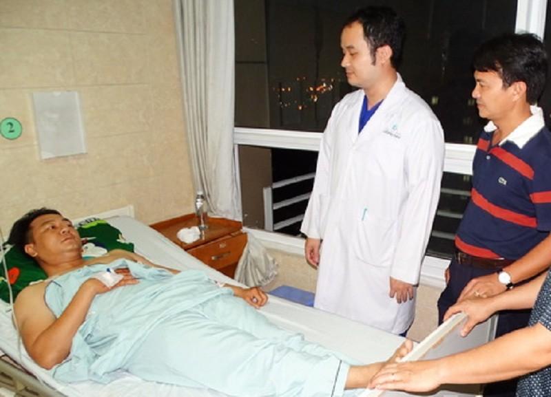 Một thượng úy cảnh sát ở Đồng Nai bị đâm trọng thương - ảnh 1