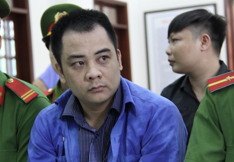 Vẻ mặt lạnh lùng của Giang '36' trong ngày bị xét xử - ảnh 1