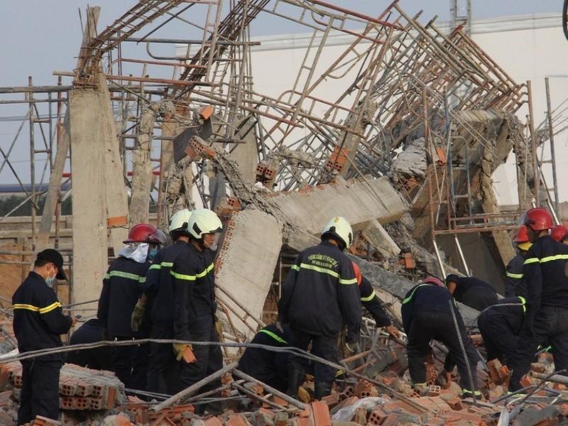 Sập tường 10 người chết ở Đồng Nai: Khởi tố giám đốc công ty - ảnh 1