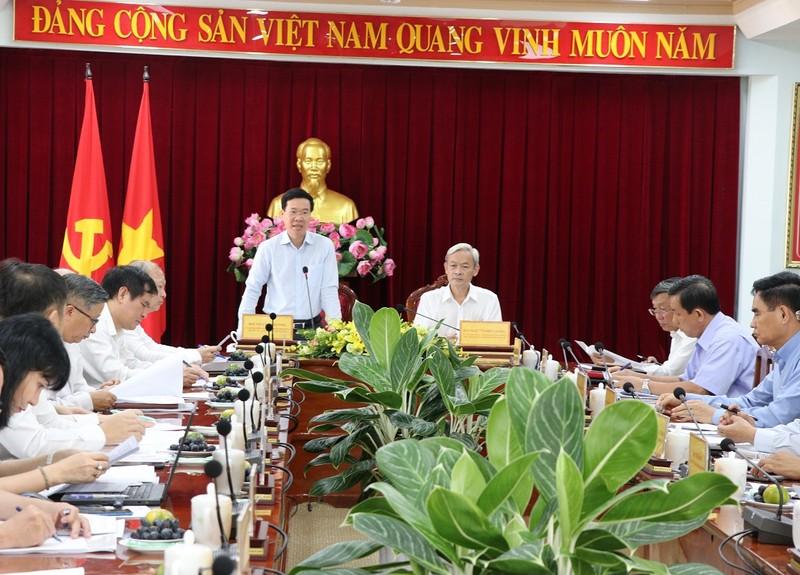 Trưởng Ban Tuyên giáo Trung ương làm việc với tỉnh Đồng Nai - ảnh 1