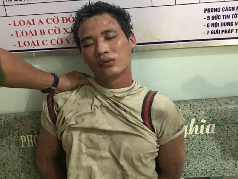 Đồng Nai: Giải cứu 2 mẹ con bị thanh niên ngáo đá khống chế - ảnh 1