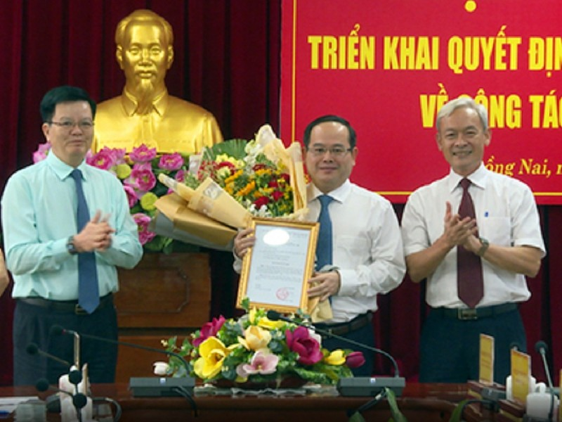 Phó ban Tổ chức trung ương làm Phó Bí thư Tỉnh uỷ Đồng Nai - ảnh 1