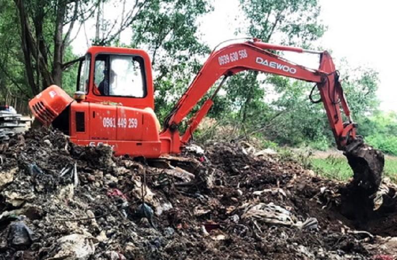Đồng Nai: Làm rõ công ty chôn lấp chất thải nguy hại trái phép - ảnh 1