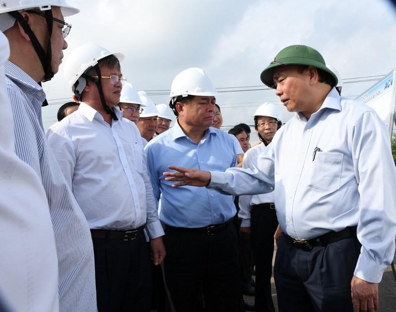 Thủ tướng thị sát dự án Sân bay Long Thành - ảnh 1