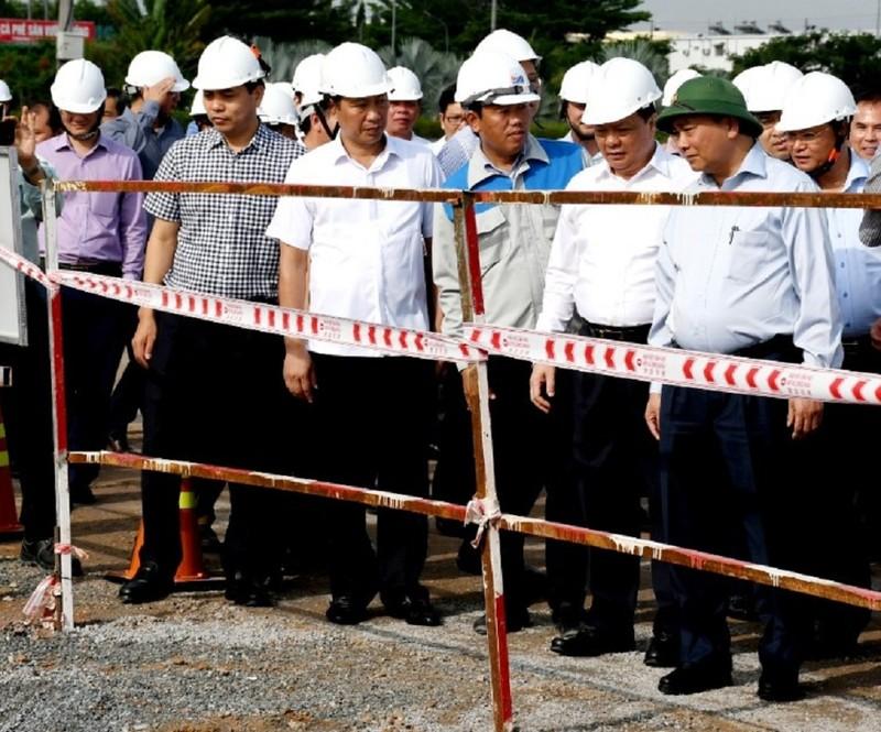 Thủ tướng thị sát dự án Sân bay Long Thành - ảnh 2