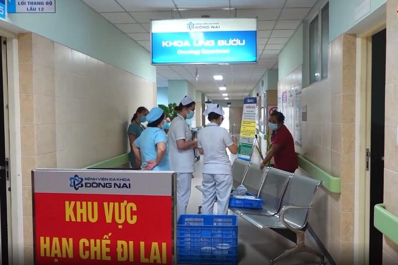 BVĐK Đồng Nai gỡ phong tỏa khoa Ung Bướu liên quan COVID-19 - ảnh 1