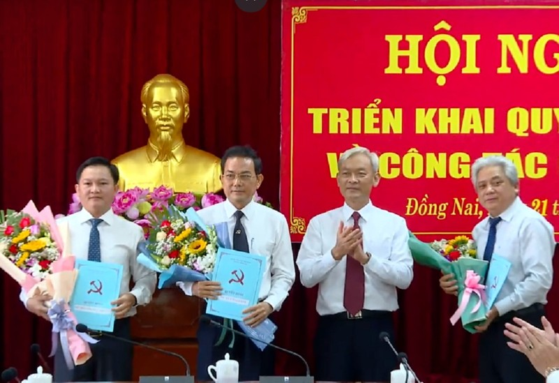 Phó chủ tịch tỉnh Đồng Nai làm Bí thư Thành ủy Biên Hòa - ảnh 1