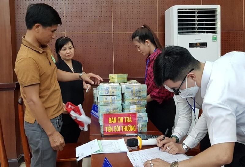 Chi trả gần 1.300 tỉ tiền bồi thường dự án sân bay Long Thành - ảnh 1