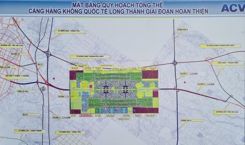 4,8 ngàn tỉ xây dựng 2 tuyến đường kết nối Sân bay Long Thành - ảnh 1