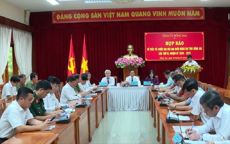 Bí thư Tỉnh ủy Đồng Nai tiếp tục giới thiệu tái cử tại Đại hội - ảnh 1