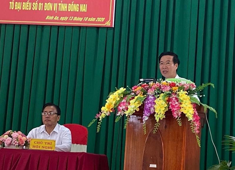 Cử tri Đồng Nai nêu ý kiến về dự án Sân bay Long Thành - ảnh 1
