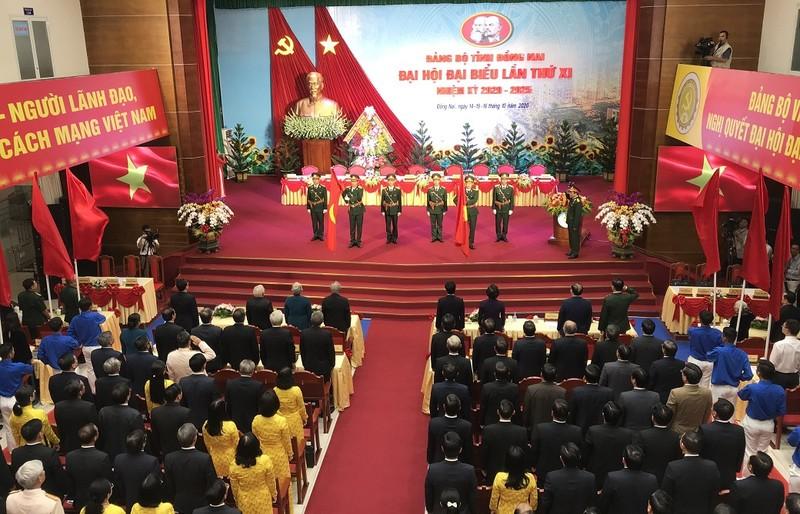 Khai mạc Đại hội đại biểu Đảng bộ tỉnh Đồng Nai lần thứ XI - ảnh 1
