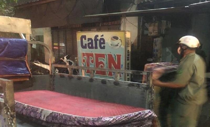 Công an dẹp khu 'tam giác' cà phê đèn mờ ở Đồng Nai - ảnh 1