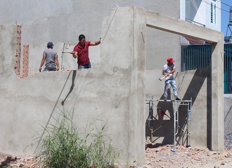Đồng Nai: Siết chặt xây dựng trái phép ở TP Biên Hòa  - ảnh 1
