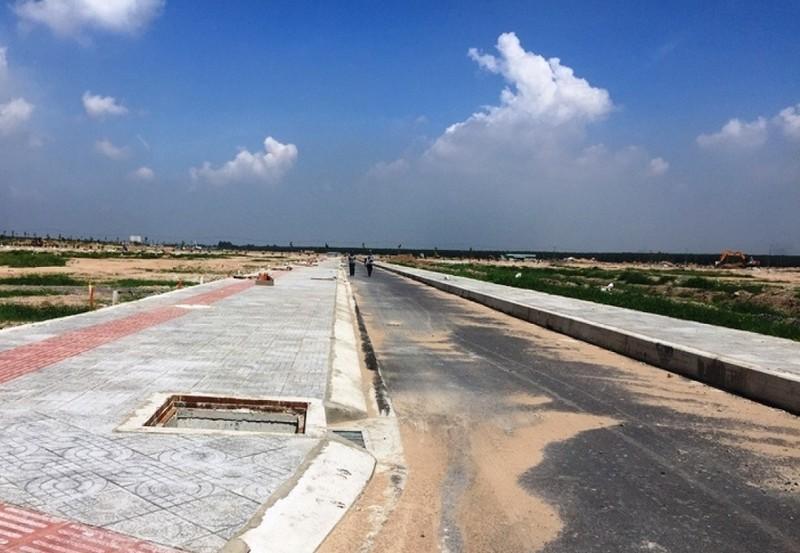 Đường trong khu tái định cư sân bay Long Thành quá hẹp - ảnh 2