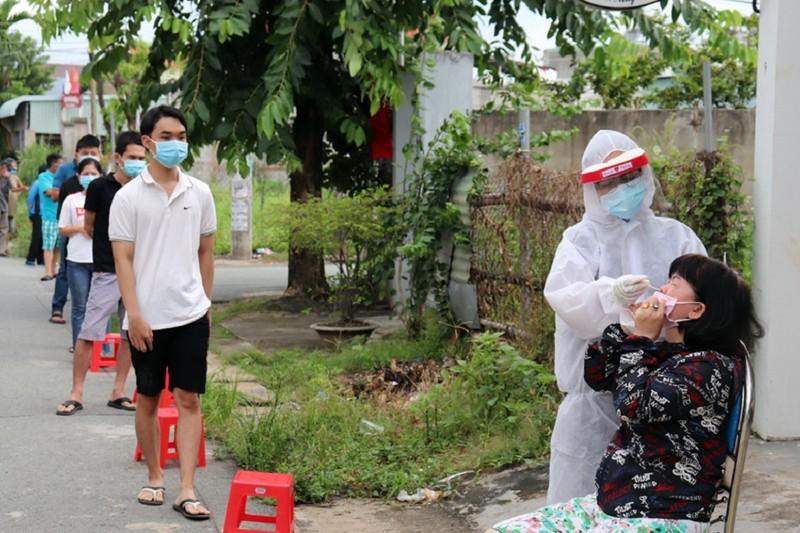 Đồng Nai: Ca nhiễm COVID-19 liên tục tăng, TP Biên Hòa gần 1.500 ca - ảnh 1