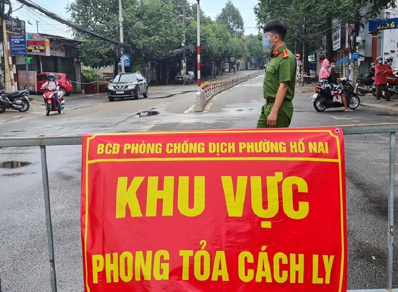 Đồng Nai tiếp tục phong tỏa 15 ngày tại 5 phường của TP Biên Hòa  - ảnh 1
