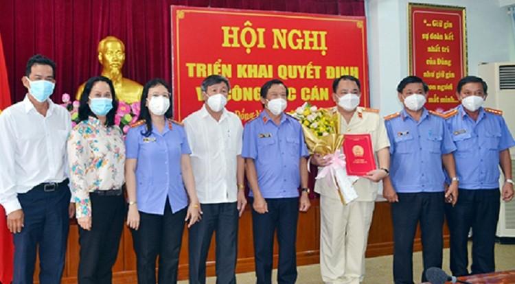 Bổ nhiệm phó viện trưởng VKSND tỉnh Đồng Nai - ảnh 1
